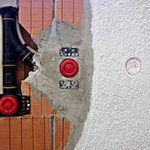 Putkisto seinässä