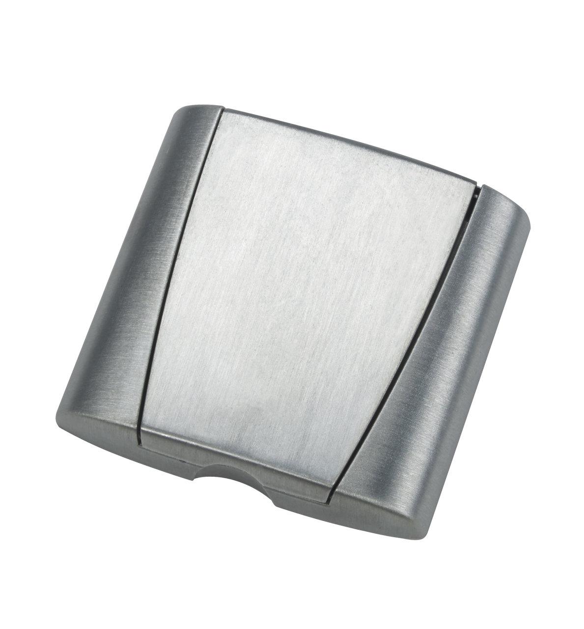 Metallisk doslock Optima, silver, utan lock